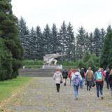 Мемориальный комплекс погибшим солдатам Советской Армии в ВОВ в Бельско - Бяла. Вахта памяти.