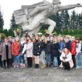 Мемориальный комплекс в Бельско - Бяла погибшим солдатам Советской Армии