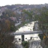 Пограничный мост Польский Чешин - Чешский Чешин