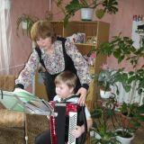 Боровская Татьяна Викторовна с учеником Барешкиным Димой