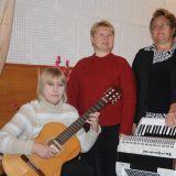 (слева направо): Соловьёва Ольга Викторовна, Белова Нина Андреевна, Куликова Наталья Ивановна, Боровская Татьяна Викторовна